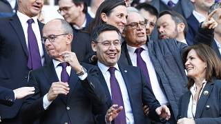 El expresidente del Barcelona FC, Josep Maria Bartomeu.