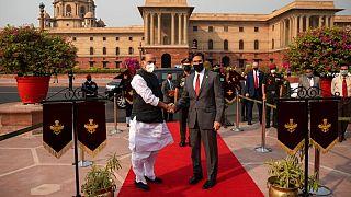 وزرای دفاع آمریکا و هند