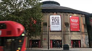 The iconic Roundhouse in Camden
