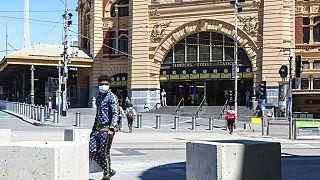 Melbourne-i utcakép