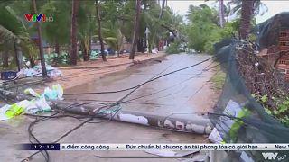 "Тайфун ""Молаве"" надвигается на Вьетнам"
