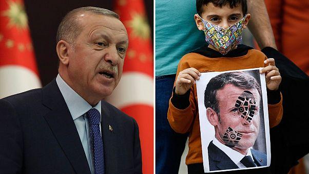 Charlie Hebdo agace encore un peu plus le président turc Erdogan en le caricaturant