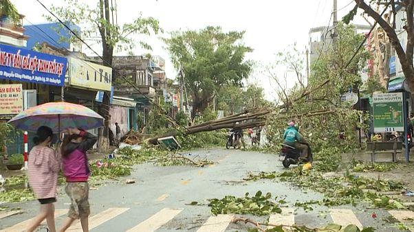 Τυφώνας σάρωσε το Βιετνάμ