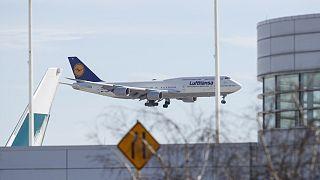 Lutfhansa uçağı