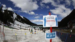 Covid-19 salgınının kış turizmini de olumsuz etkileyeceği tahmin ediliyor