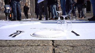 Ιταλία: Διαδηλώσεις κατά των περιοριστικών μέτρων
