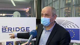 MEP Pierre Larrouturou, Brussels Oct 28 2020