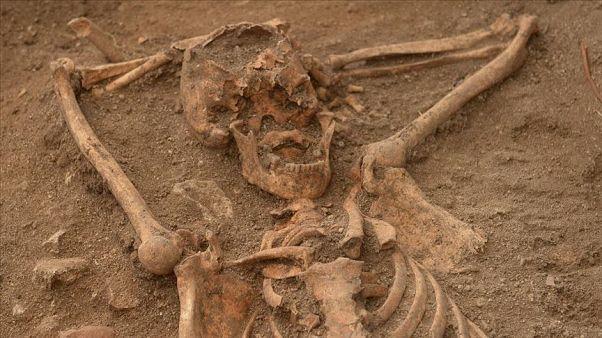 Ruanda'da toplu mezar bulundu
