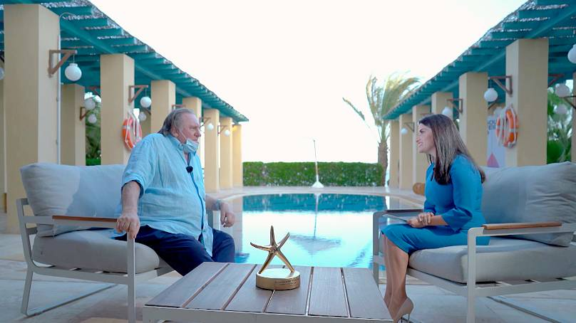 Gerard Depardieu speaks to Inspire Middle East