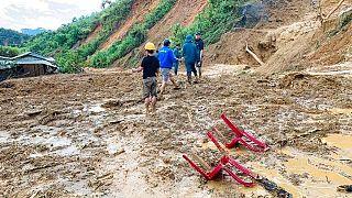 Tájfun pusztított Vietnamban