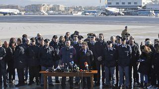 Министр юстиции Италии Альфонсо Бонафеде и бывший вице-премьер и глава МВД Маттео Сальвини