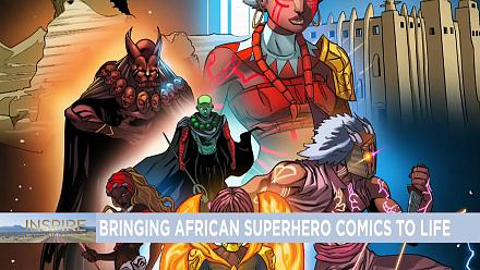 Bringing African Superhero Comics to Life {INSPIRE AFRICA}