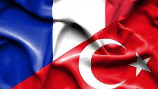 Fransa-Türkiye bayrağı