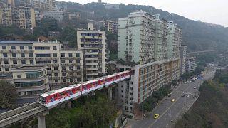 Çin'in Chongqing kenti