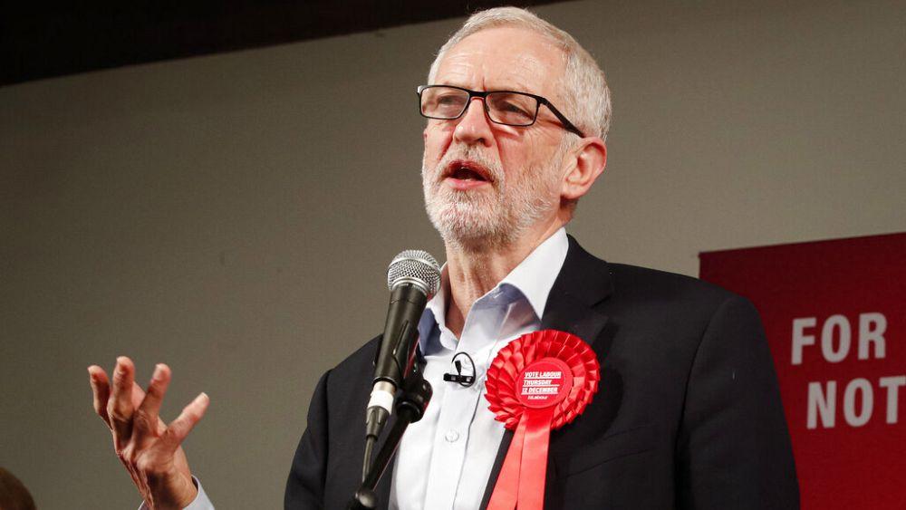 A brit Munkáspárt felfüggesztette volt elnökét, Jeremy Corbynt