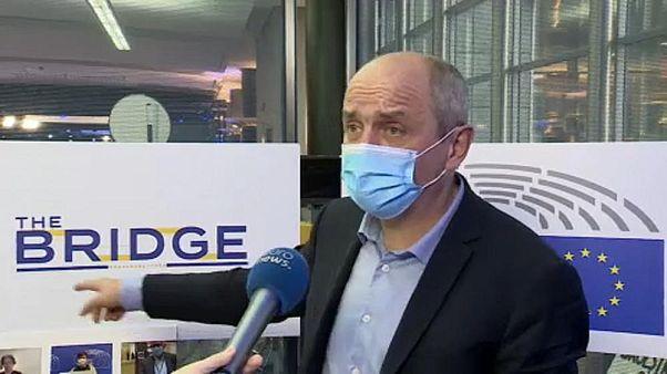 AP milletvekili Pierre Larrouturou, Brussels Oct 28 2020