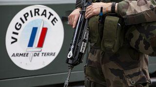 Soldat français mobilisé dans le cadre du plan Vigipirate, le 25 juillet 2016.