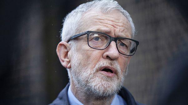 İşçi Partisi eskli lideri Jeremy Corbyn