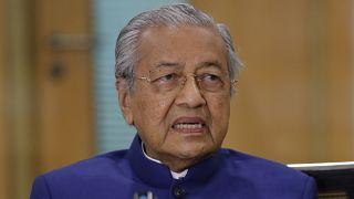 رئييس الوزراء الماليزي السابق مهاتير بن محمد