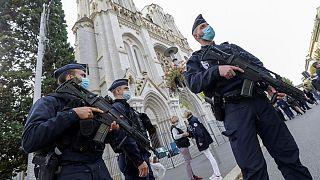 مهاجمی صبح امروز با سلاح سرد به کلیسای نیس حمله کرد