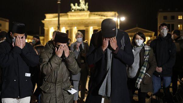 Gedenken Opfer von Nizza in Berlin