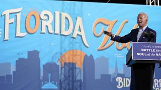Joe Biden kampánybeszédet mond Floridában