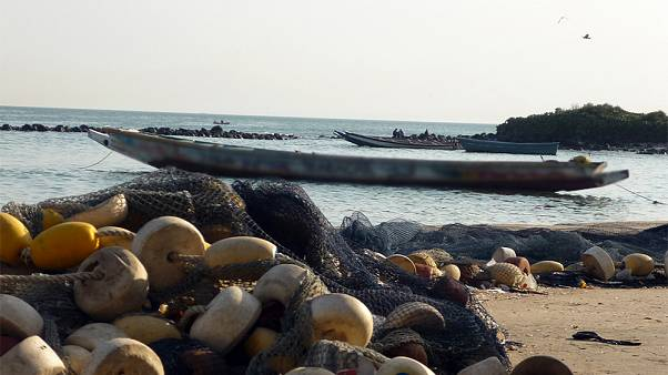 Archive photo of the Senegalese coast.