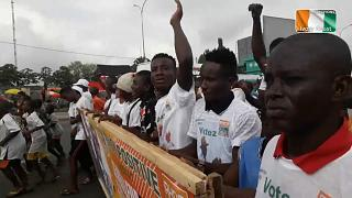 """Lackluster""campaigning in Ivory Coast's presidential election"