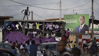 Terne fin de campagne en Côte d'Ivoire