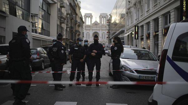 حمله به کلیسایی در شهر نیس فرانسه