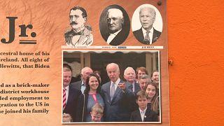 صورة عملاقة تجمع بايدن وأسلافه الإيرلنديين