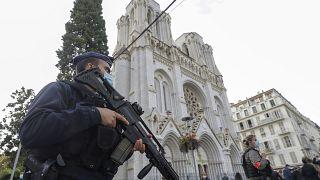 اعتداء على كنيسة بمدينة نيس الفرنسية