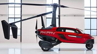 A PAL-V Liberty kinyitott rotorral