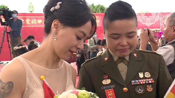 زواج جماعي في تايوان