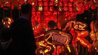 Zu Halloween reitet der kopflose Reiter