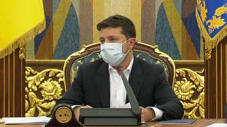 Ukranian President Volodymyr Zelensky has slammed the constitutional court's decision and has asked law enforcement to investigate.