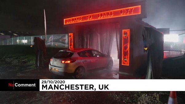 Autós Halloween Manchesterben