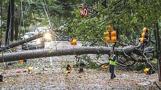 Lecsapott a Zeta hurrikán az Egyesült Államokban