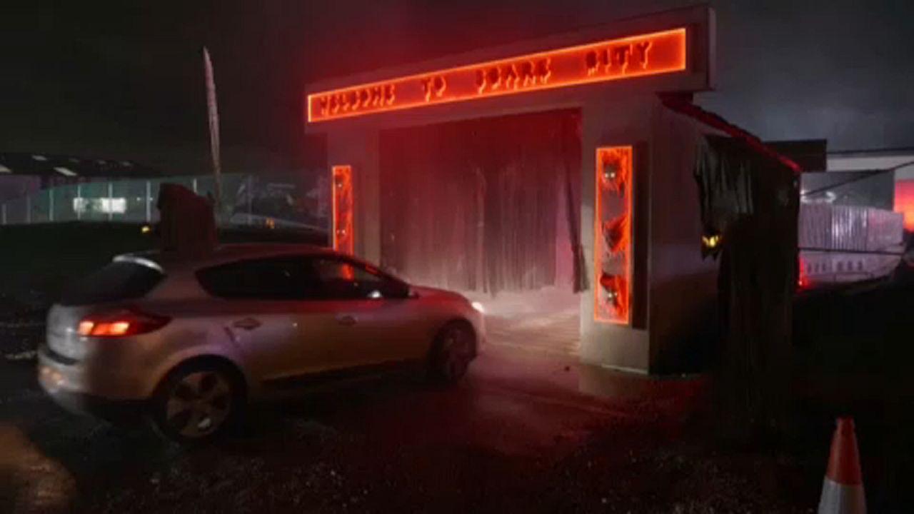 "Halloween ""drive-in"""
