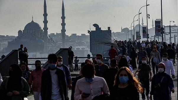 Türkiye'de covid-19 rakamları
