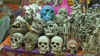 شاهد: المكسيك تستعد لعيد الموتى في زمن كورونا