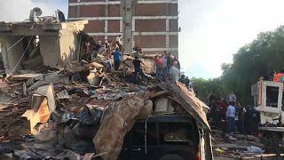 Разрушения в Измире