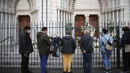 Depois do luto Nice pede justiça