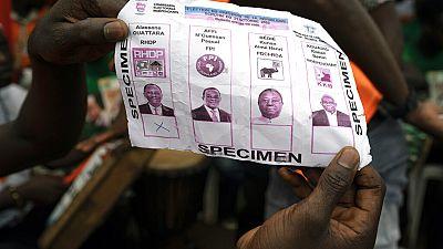 Jour de vote en Côte d'Ivoire