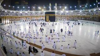 مشهد للمعتمرين في مكة. 2020/10/03