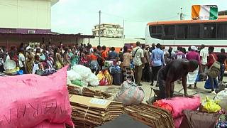 Ivory Coast: Fearing election violence residents flee Abidjan