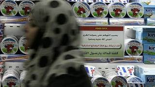 Ürdün'de bir market (arşiv)