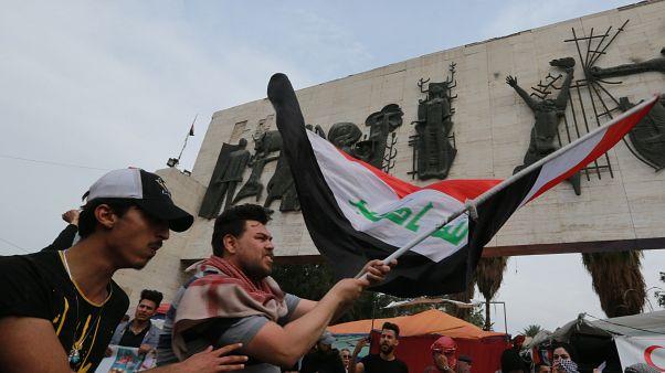 ساحة التحرير في بغداد- العراق