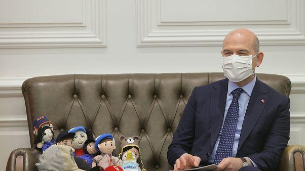 İçişleri Bakanı Süleyman Soylu kendi ve ailesinin Covid-19'a yakalandığını açıkladı