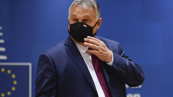 Orbán Viktor miniszterelnök Brüsszelben, az október 2-án tartott EU-csúcson.